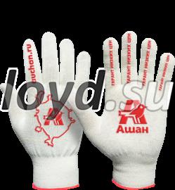 Рабочие перчатки с логотипом.