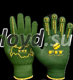 Перчатки с логотипом.