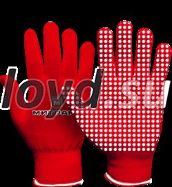 Перчатки с брендом